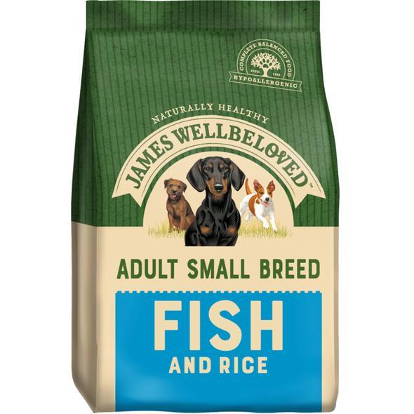James Wellbeloved Adult Small Breed Fish and Rice