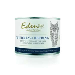 eden wet cat food tins 200g