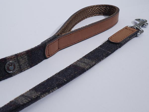 Rosewood Tweed Lead
