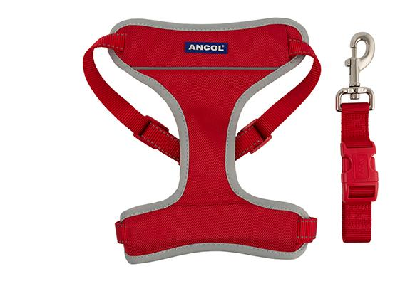 Red Ancol Travel and Exercise Harness
