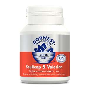 Scullcap and Valerian Tablets from Petshop Postie