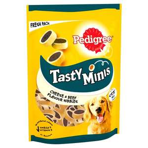 Pedigree Tasty Minis, Cheese and Beef