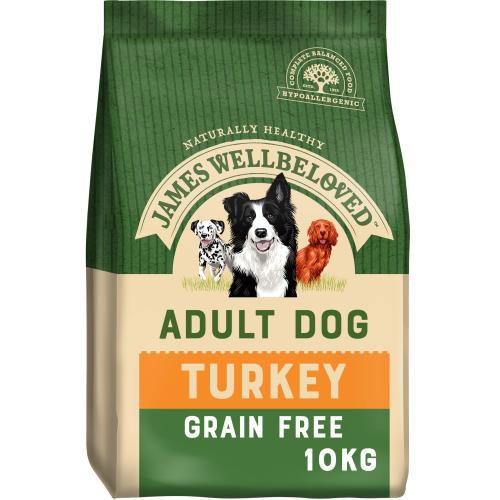 James Wellbeloved Adult Grain Free Turkey and Vegetables