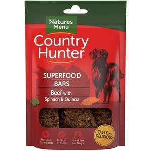 country Hunter superfood Beef Bar