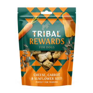 Tribal Rewards - Cheese, Carrot & Sunflower Seeds Dog Biscuits
