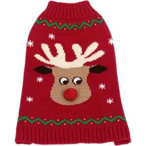Reindeer Christmas Jumper for Dogs