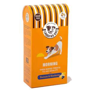 Laughing Dog Morning Treats GRAIN FREE Banana and Blueberry
