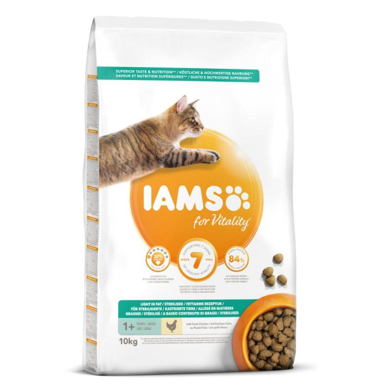 IAMS Cat Light with Chicken