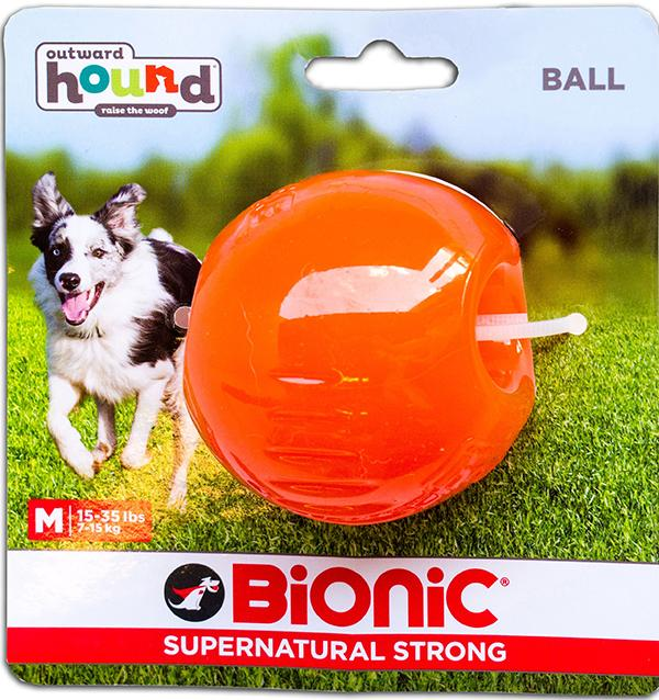 Bionic superstrong ball for dogs, medium