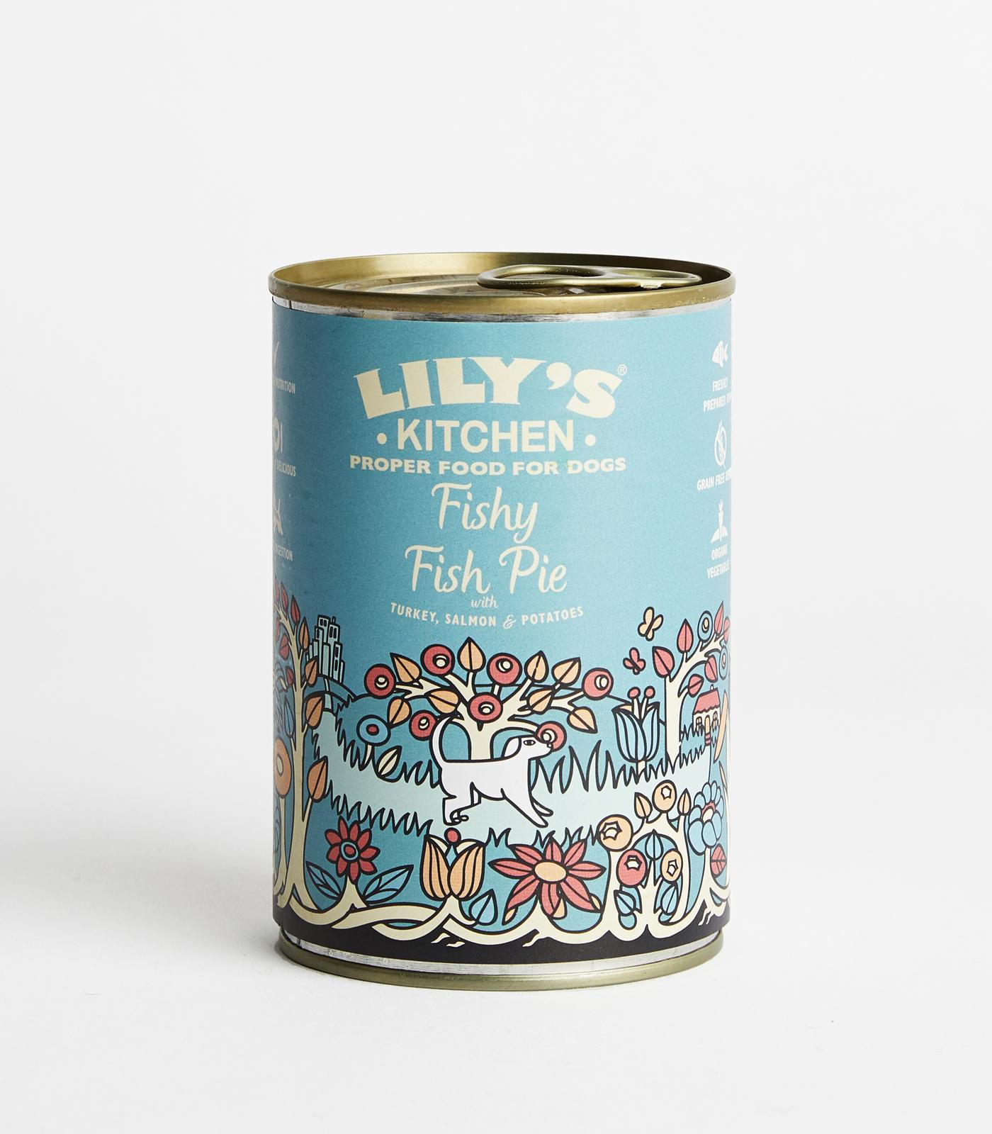 lilys kitchen fishy fish pie tins