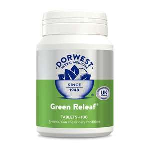 Dorwest Green Relief Tablets