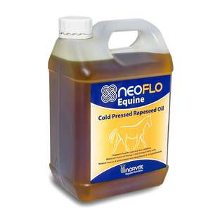 neoflo equine cold pressed rapeseed oil