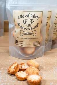 Life of riley coconut Macaroons