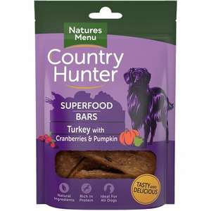 Country Hunter Superfood Bars - turkey