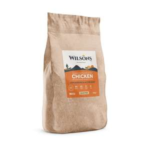 Wilsons Cold Pressed Working Dog Food Chicken - 15kg