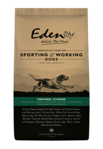 eden original cusine 80/20 dry working dog food