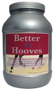 better 4 hooves horse supplement