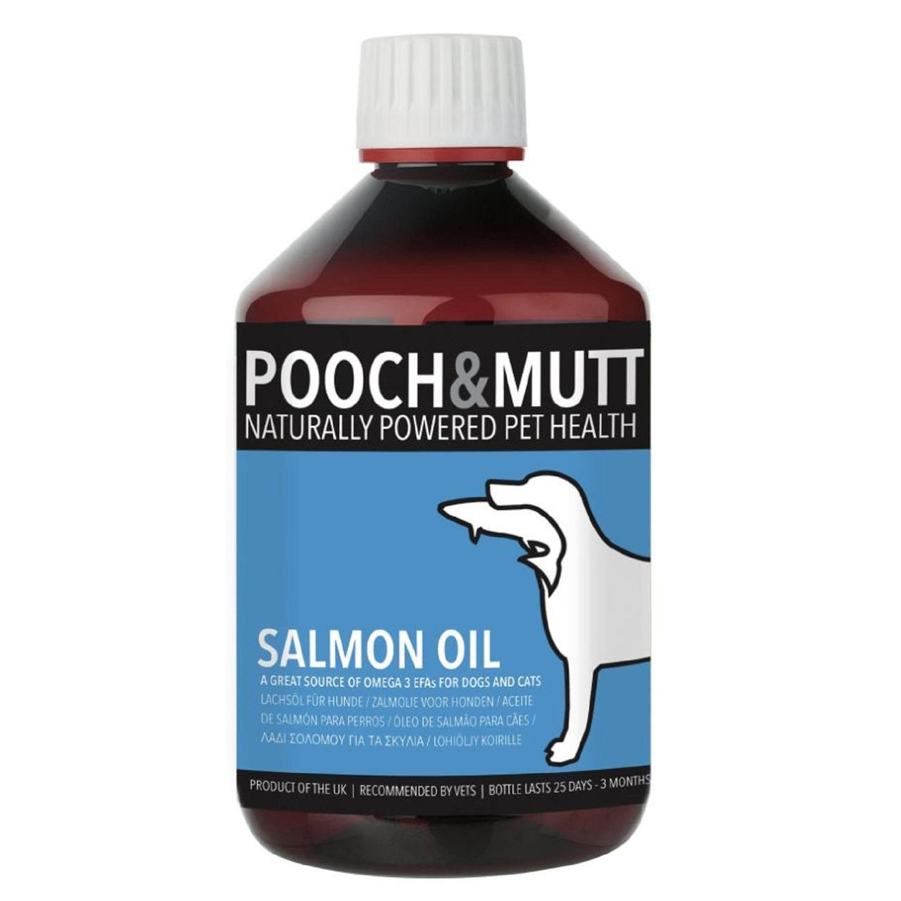 pooch and mutt salmon oil