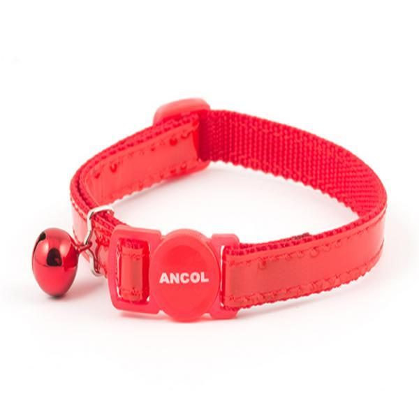 Ancol Gloss Collar-red