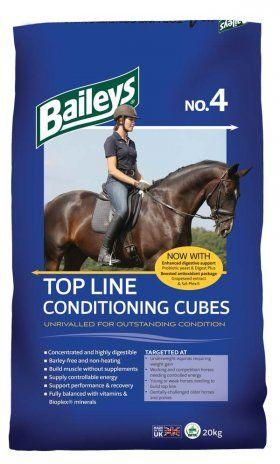 Baileys No.4 Top Line Conditioning Cubes