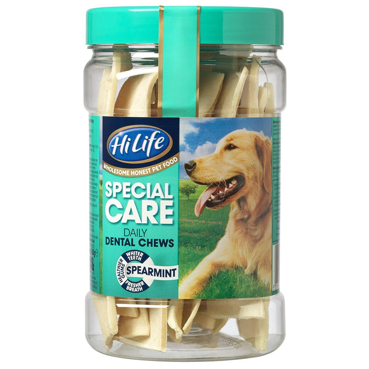 hilife natural spearmint chews
