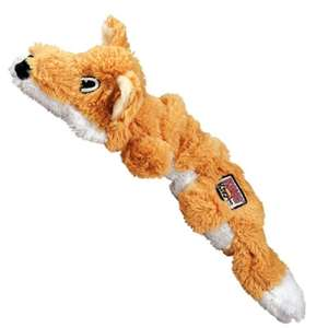 Kong Scrunch Fox toy- Large