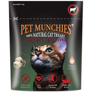 Pet Munchies Beef Liver Treats for Cats