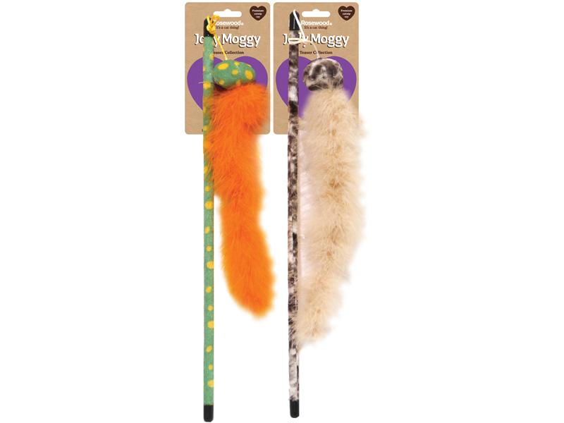 Feather boa teaser Toy for Cats