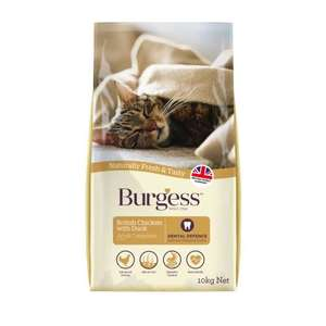 Burgess adult cat chicken and duck