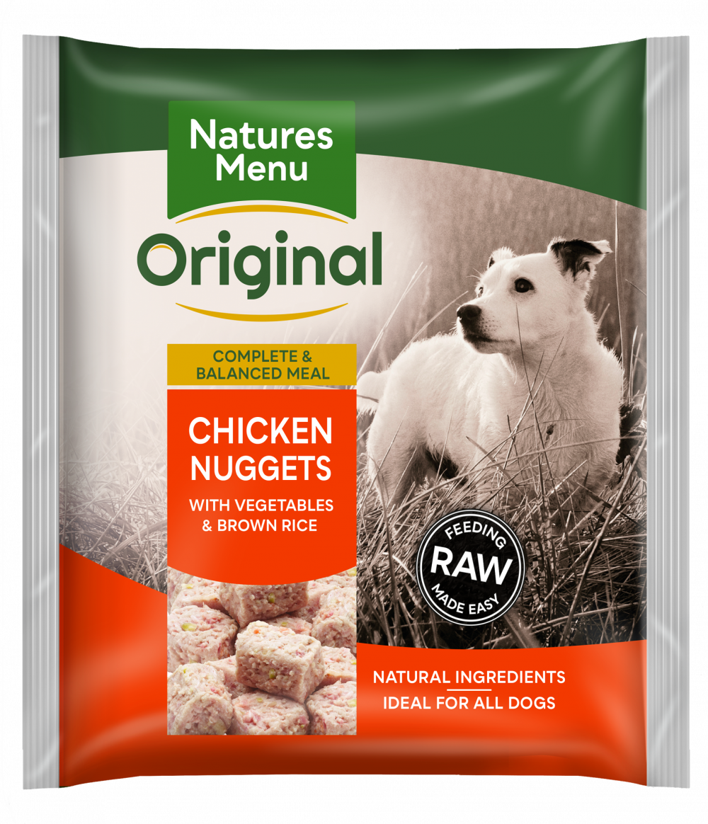 Nature's Menu Chicken Bite Size Nuggets 1kg