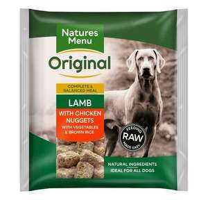 Nature's Menu Original Lamb with Chicken Nuggets
