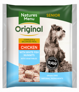 Nature's Menu Original Senior Chicken & Fish Nuggets