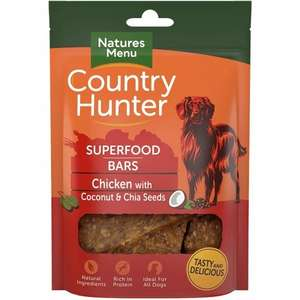 Country Hunter Chicken Superfood Bars
