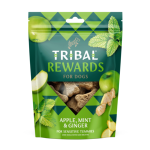 ribal Rewards - Apple, Mint & Ginger Dog Biscuits