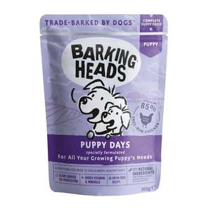 Barking Heads Puppy Days 300g