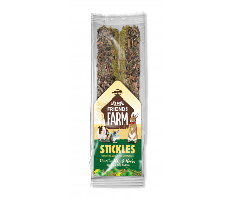 Stickles Timothy Hay & Herbs Treats