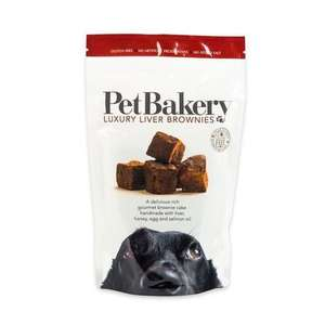 Pet Bakery Liver Brownies