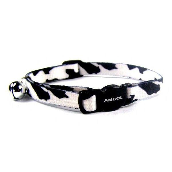 Black Camouflage Cat collar