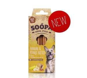 soopa Banana and Peanut Butter Dental Chews