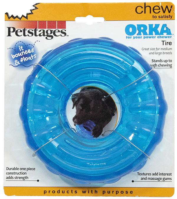 orka tire dog chew