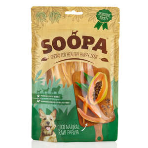 Soopa Papaya Dog Chews from Petshop postie