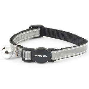 Ancol silver cat collar