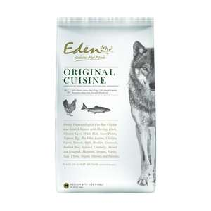 eden original dog food