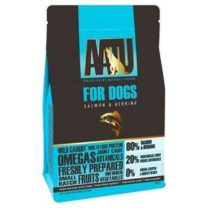 aatu grain free dog food salmon and herring