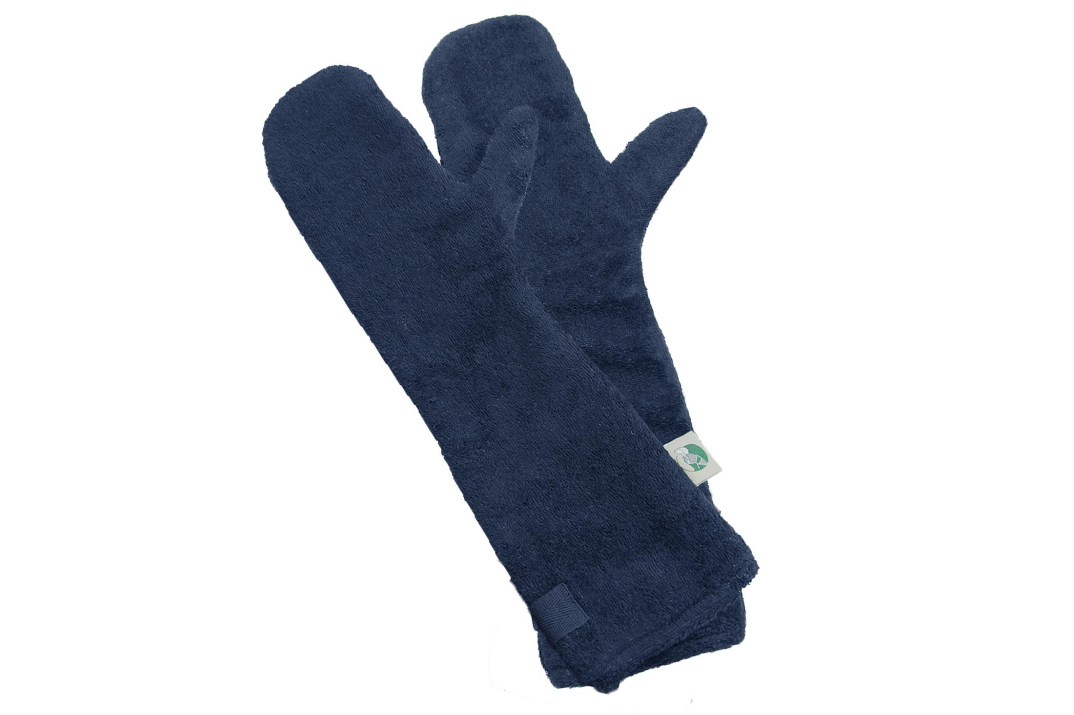 Navy Drying Mitts