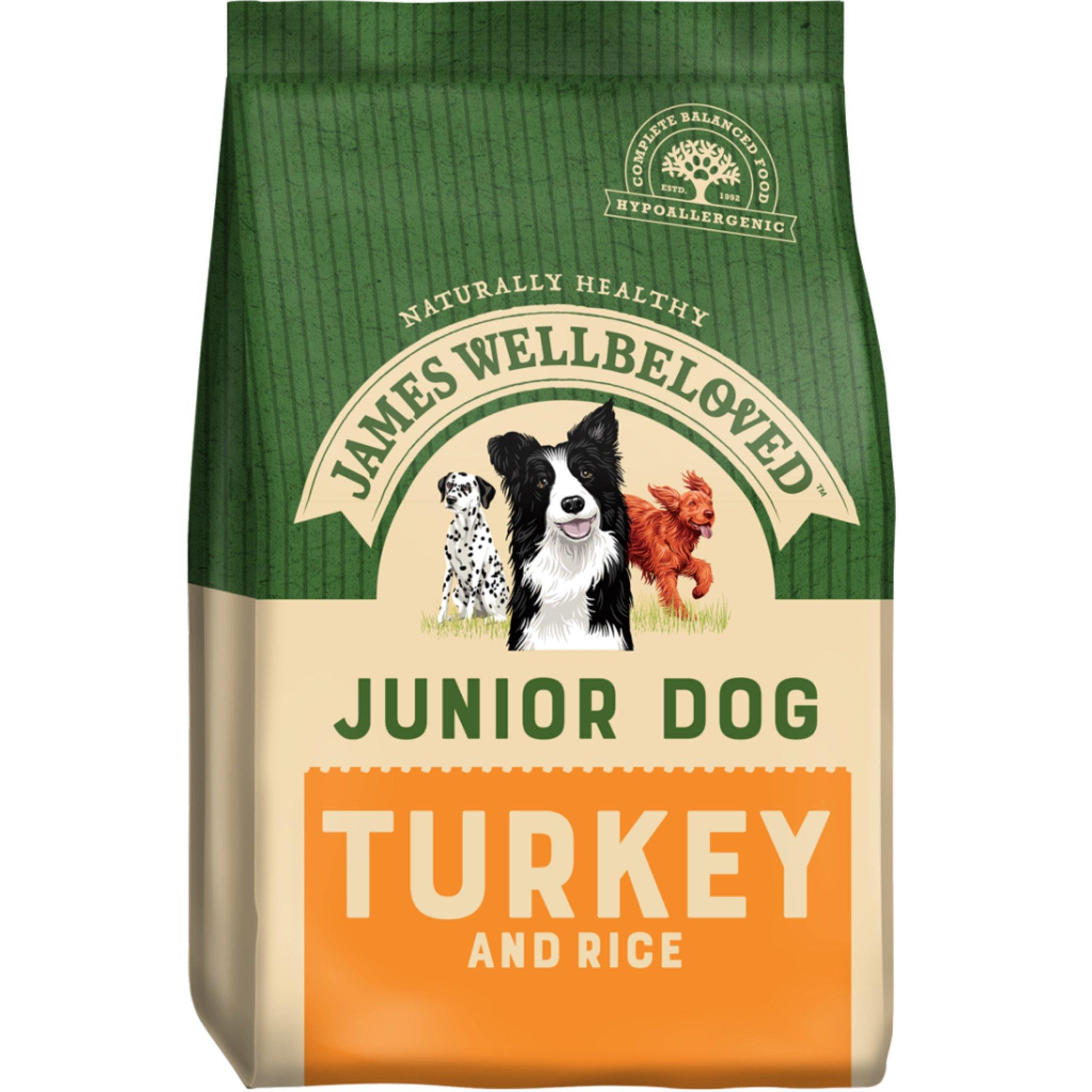 James Wellbeloved Junior Turkey and Rice
