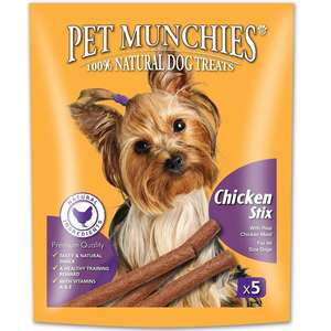 Pet Munchies Gourmet chicken Stix