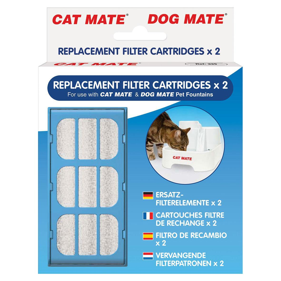 Cat Mate & Dog Mate Fountain Filter Cartridges
