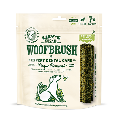 lily's kitchen woofbrush medium