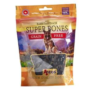 Antos Rabbit and Spinach super bones